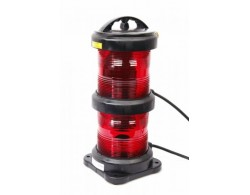 Navigation light double - Not Under Command Red + certificate without lamp