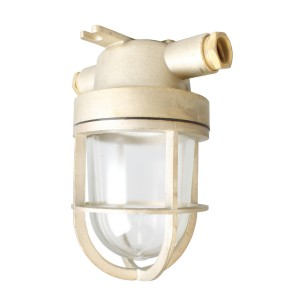 Well glass fitting brass 100W German-type E27 IP56 -O-