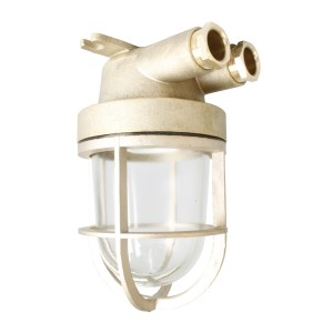 Well glass fitting brass 100W German-type E27 IP56 O=